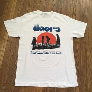 DayDreamer | The Doors Graphic Band T White SzM